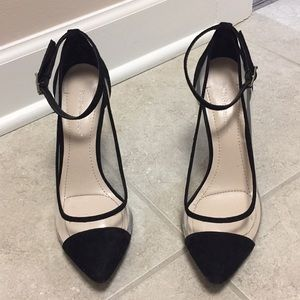 Sexy see through pumps